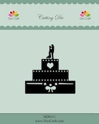 MD0111Dies Bröllopstårta