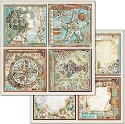 SBB666STAMPERIA  Papper 12 x 12