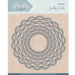 CDECD0099Dies Card Scallop Circle