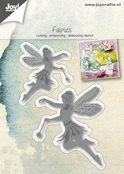 6002-1069 Dies Fairies