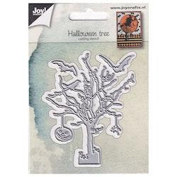 6002-1071 Dies Halloween Tree