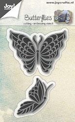6002-0590 Dies Butterflies