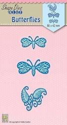 SDB039DIES Butterflies