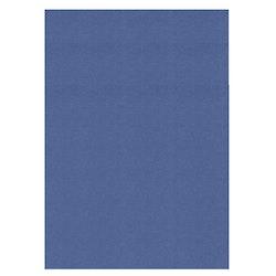 583064 Cardstock A4 Linnestruktur  Jeansblå