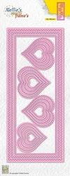 MFD142DIES Slimline hearts