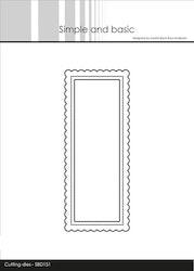 SBD151DIES Simple and Basic Add on - Mini Slimcard