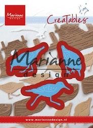 LR0596 Dies Marianne Design sjöfåglar