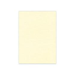 582002 Cardstock Linen Cream A4