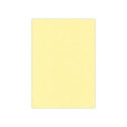 583003 Cardstock Linnestruktur Ljus gul A4