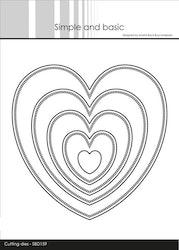SBD159DIES  Pierced Heart