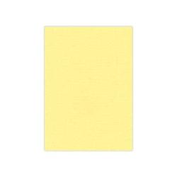 583004-Cardstock Linnestruktur Gul A4