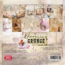CPS-BG30BLOCK Blooming Grunge 12 X 12