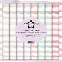 PF173BLOCK Watercolor Stripes
