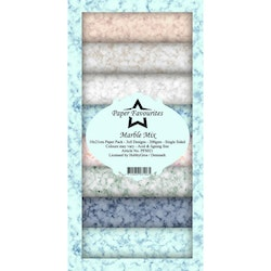 PFS021 Mönsterpapper slimcard Marble Mix