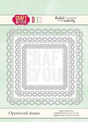 CW072 Dies Craft and You Openwork frame