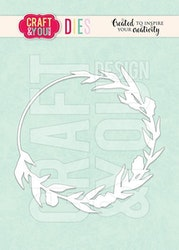 CW128 CRAFT & YOU DIE Meadow wreath