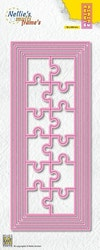 """MFD146DIES MULTIFRAME """"Slim Lines - Puzzle"""""""