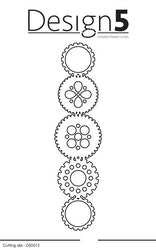 "D5D012 DIES  ""Slim Lines - Ornaments"""