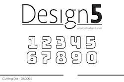 D5D005 DIES  small Numbers
