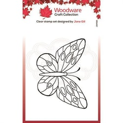 JGM011 Woodware Clearstamp mini Wings