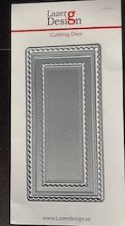 LDD-012DIES Lazerdesign slimline 5 delar
