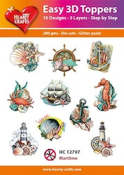 HC12797  3-D Toppers Maritime