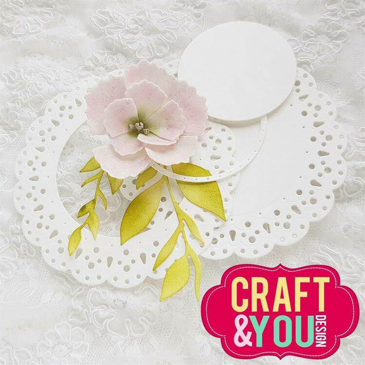 CW142 CRAFT & YOU DIE  Sweet Doily