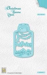 CRS023DIES Scene in a bottle