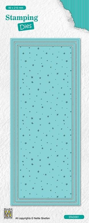STAD002STAMPINGDIES Dots and stars
