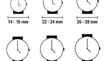 Damklocka Montres de Luxe 09EX-LAS-8300 (39 mm)