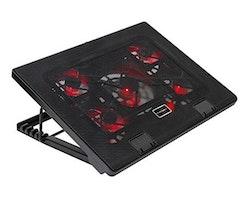 """Kylplatta Gaming till laptop Mars Gaming AAOARE0123 MNBC2 2 x USB 2.0 20 dBA 17"""" Svart"""