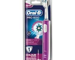 Elektrisk Tandborste Pro 600 Cross Action Oral-B