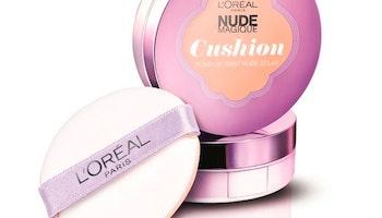 Flytande makeupbas Nude Magique Cushion L'Oreal Make Up