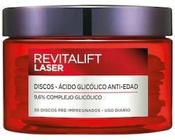 Behandling av bruna fläckar och anti-agingmedel Revitalift Laser L'Oreal Make Up (30 uds)