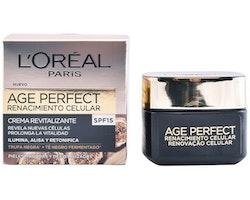 Närande dagkräm Age Perfect L'Oreal Make Up Spf 15 (50 ml)