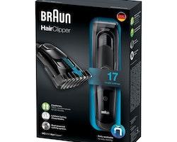 Hårtrimmer Braun HC5050 40 min Svart