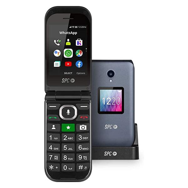 """Mobiltelefon SPC 2316N Jasper 2,8"""" TFT WiFi 1600 mAh Svart"""