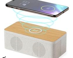 Bluetooth-högtalare med trådlös laddare 5W Bluetooth 146546