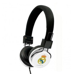 Diademhörlurar Real Madrid C.F. Vit Svart
