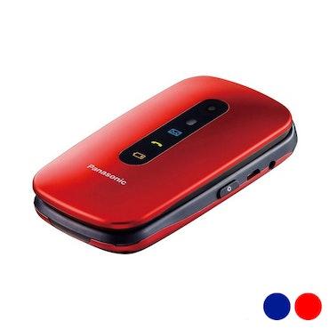 "Mobiltelefon för seniorer Panasonic Corp. KX-TU456EXCE 2,4"" LCD Bluetooth USB"