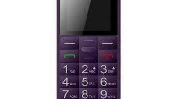 "Mobiltelefon för seniorer Panasonic Corp. KX-TU110EX 1,77"" TFT Bluetooth LED"