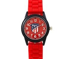 Barnklocka Atlético Madrid Röd Svart