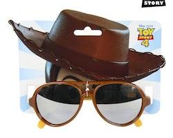 Barnsolglasögon Woody Toy Story Brun