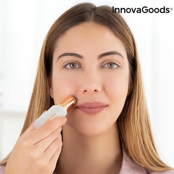 Smärtfri ansiktsepilator med LED InnovaGoods