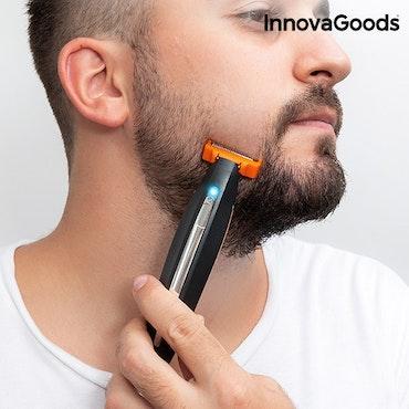 InnovaGoods 3-i-1 Elektrisk Laddningsbar Precisonsrakapparat
