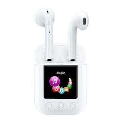 Bluetooth Hörlurar Denver Electronics TWM-850 8 GB 700 mAh Vit