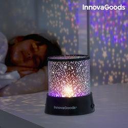nya stjärnprojektor med LED InnovaGoods