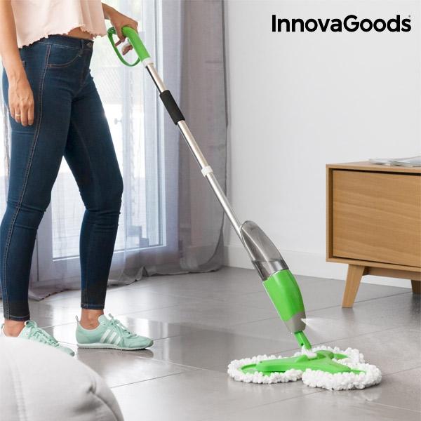 InnovaGoods Home Houseware triple mopp med spray