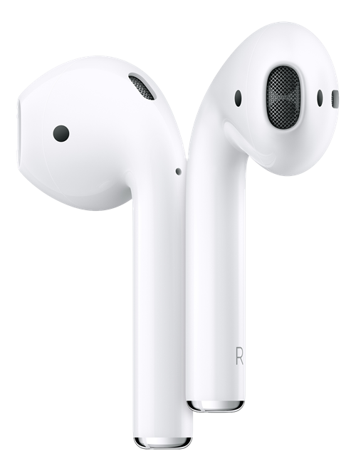 Apple AirPods med laddningsetui, Bluetooth, vit