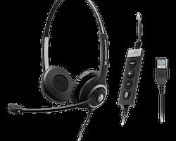 Sennheiser Business headset SC 260 MS II, USB, svart
